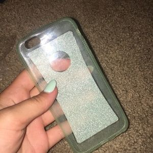 iPhone 6/6s glitter silicone case